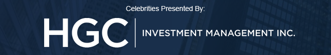 Celebrities Presented by HGC Investment Management Inc.