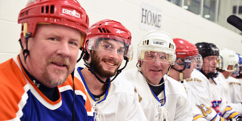 Register for a Celebrity Hockey Classic